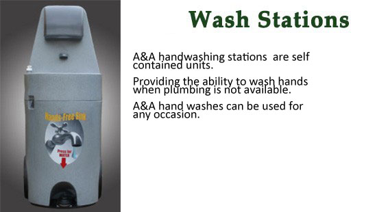 Wash Stations